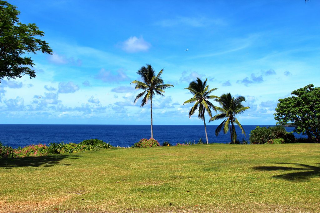 Rocky Point on Christmas Island