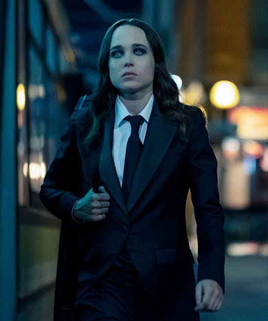 Elliot Page as Vanya Hargreeves in The Umbrella Academy.